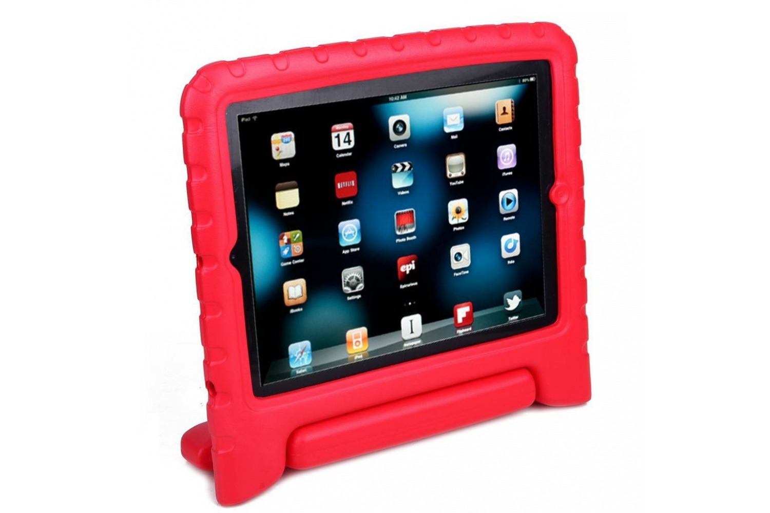 iPad Mini 4 kinderhoes rood