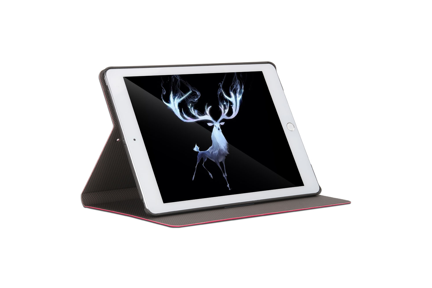 iPad 2018 9.7 design hoes Roze DEER
