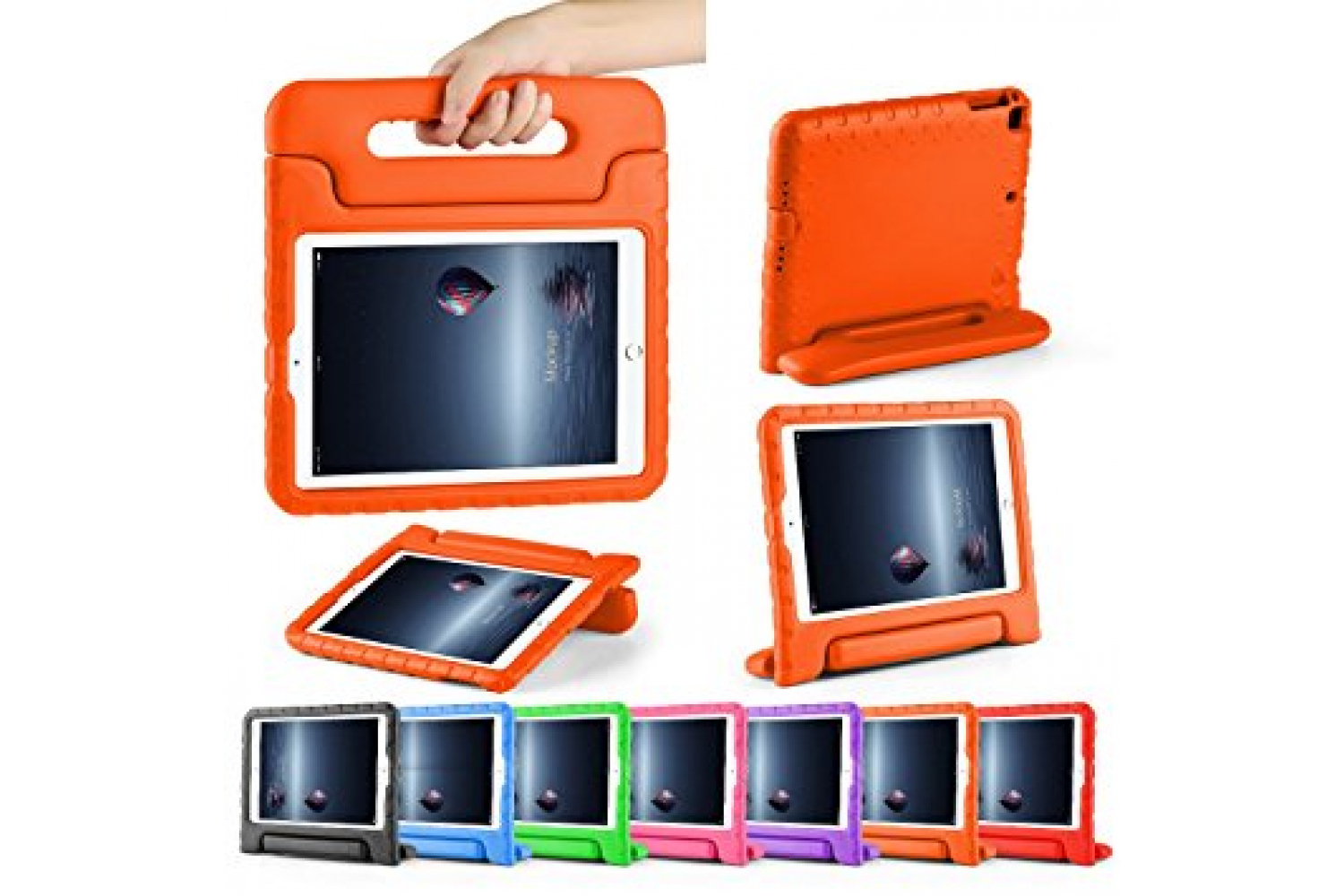 iPad Air 1 kinderhoes oranje