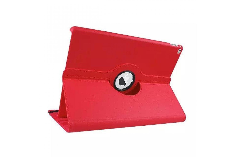 Tablet PU Leer iPad Pro 9.7 inch Draaibare Hoes rood