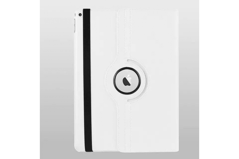 Tablet PU Leer iPad Pro 9.7 inch Draaibare Hoes wit
