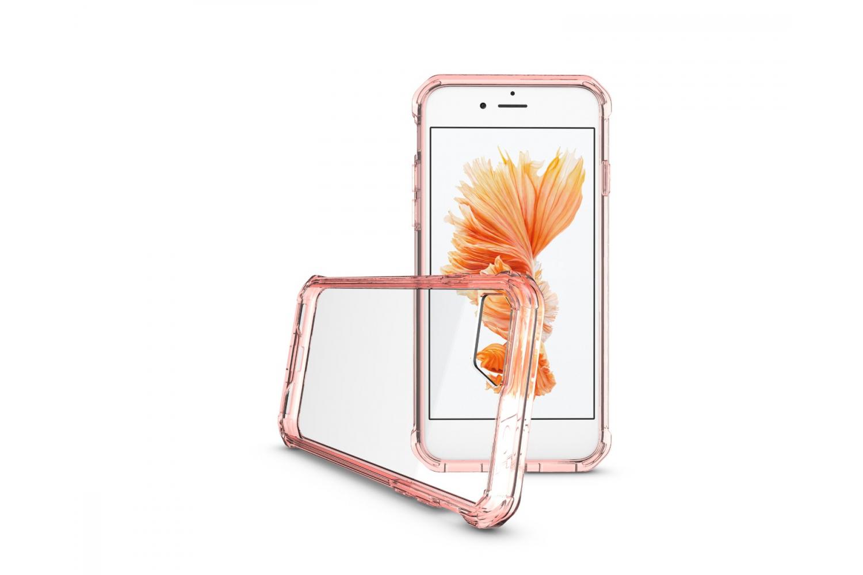 Iphone 7 Back cover Transparant Air Hybrid Rose goud