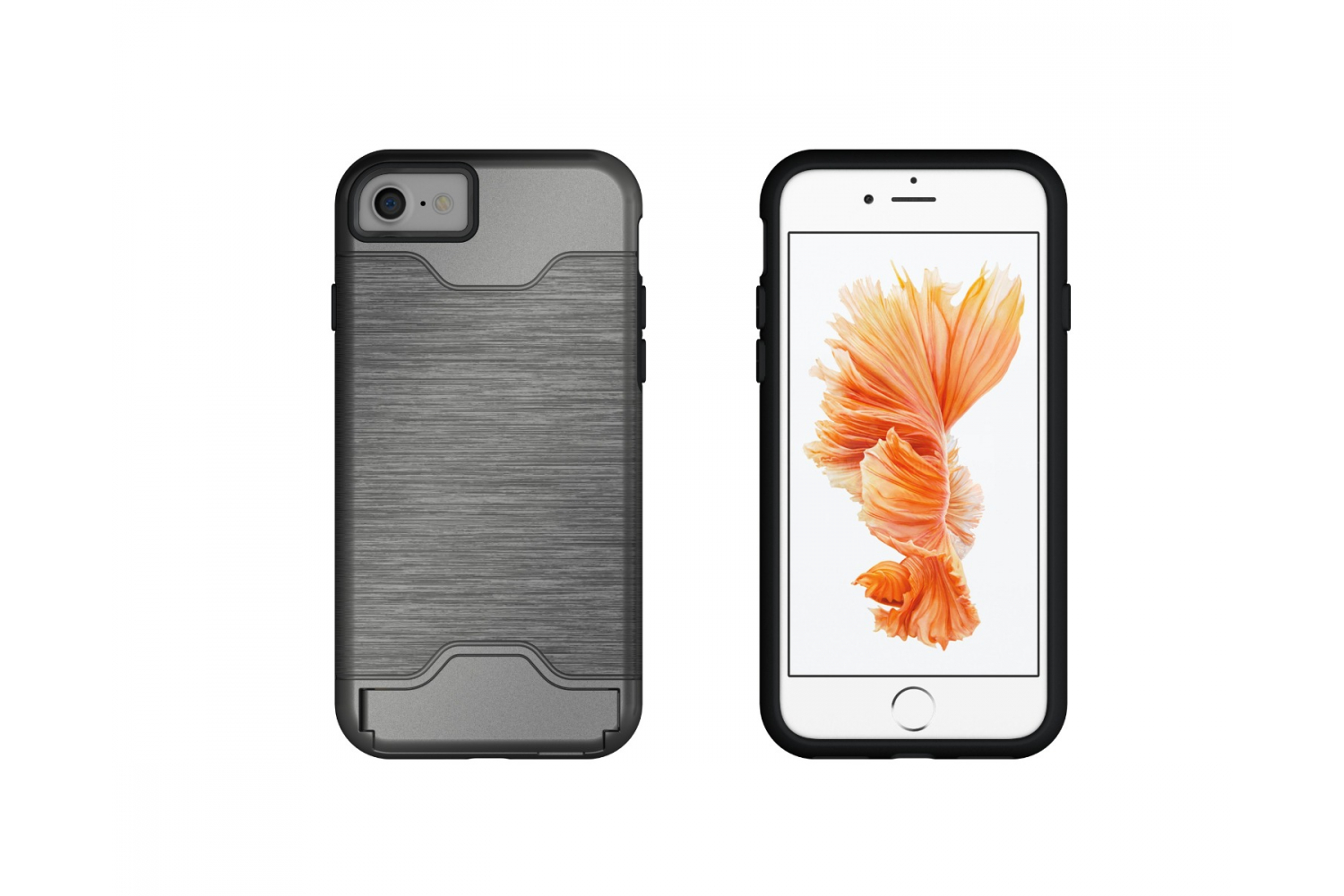 Iphone 7 Back Cover Case Zilver