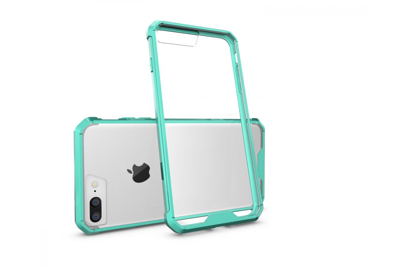 Iphone 7 Plus Back cover Transparant Air Hybrid Mintgroen