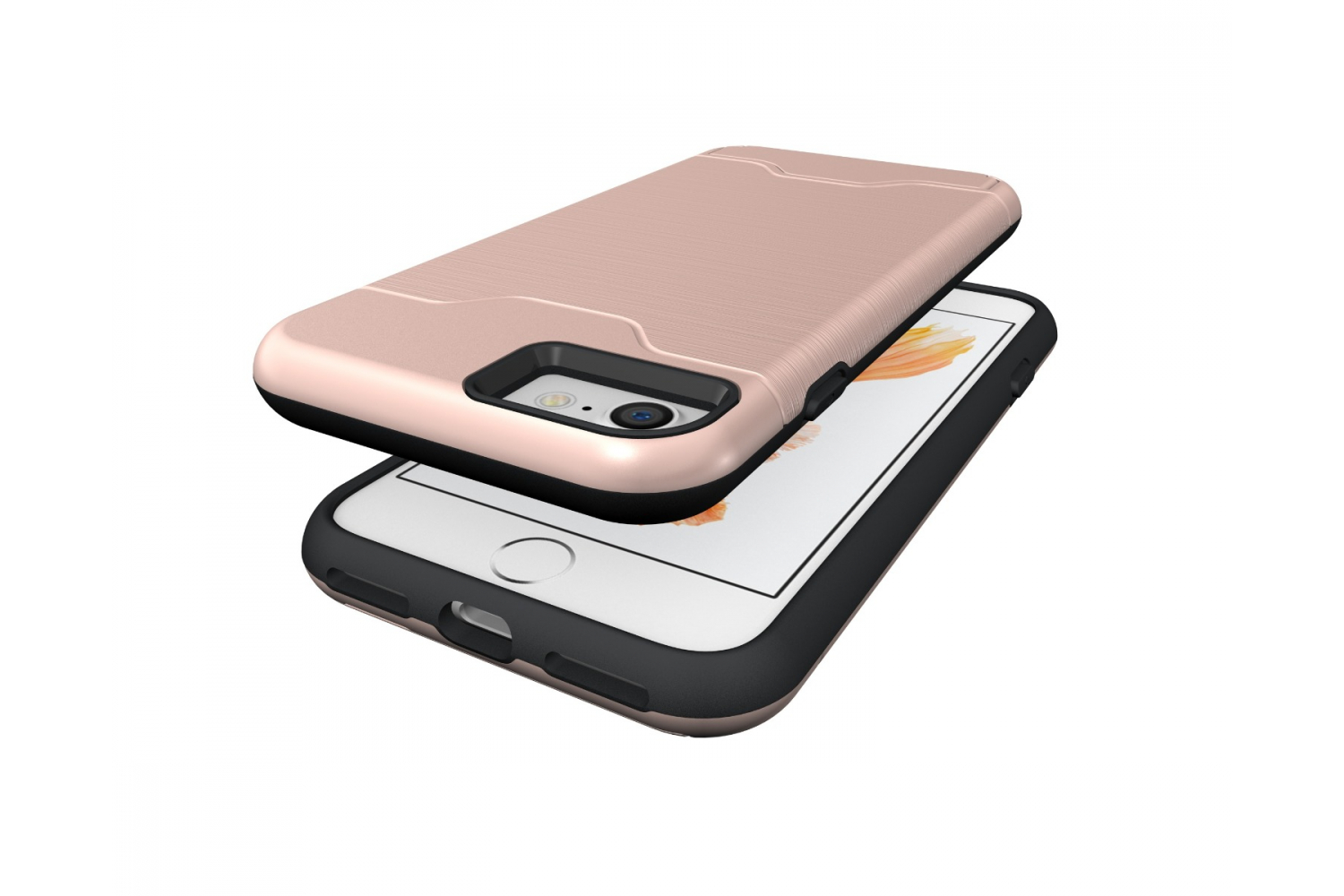 IPhone 8 Back Cover Case Rose goud