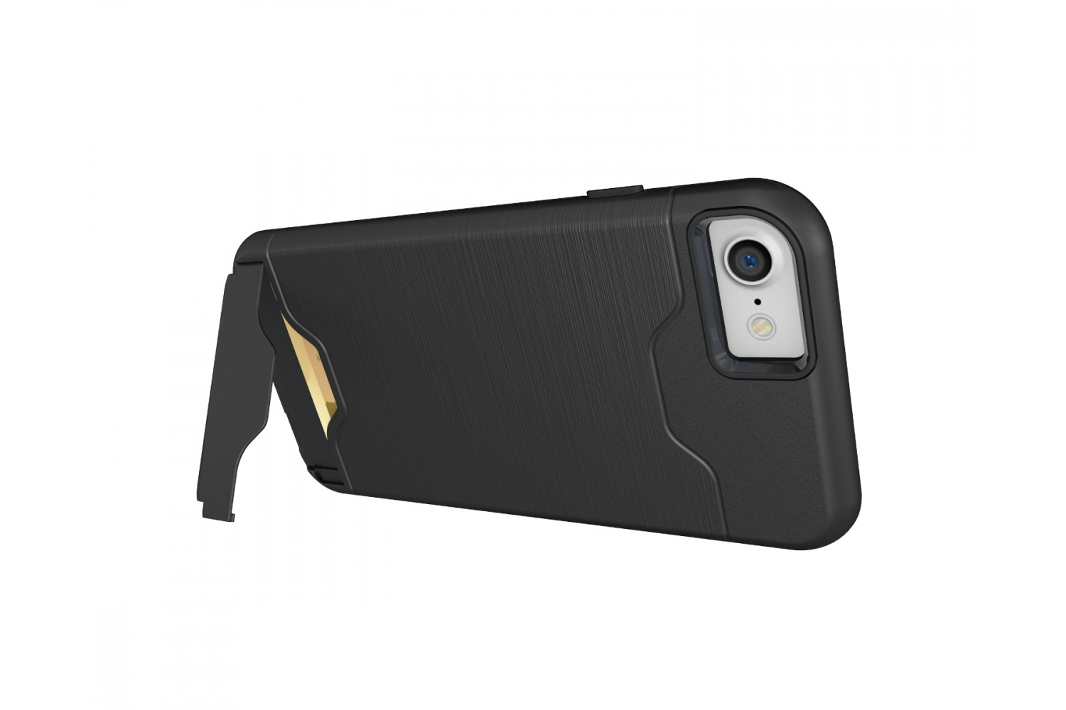 IPhone 8 Back Cover Case Zwart