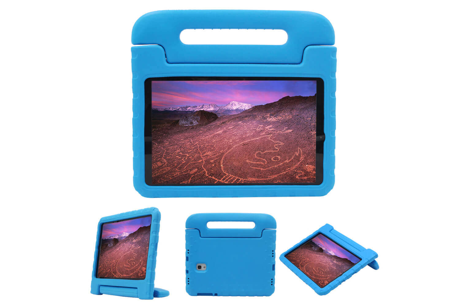 samsung galaxy tab a 10.5 kids case blue