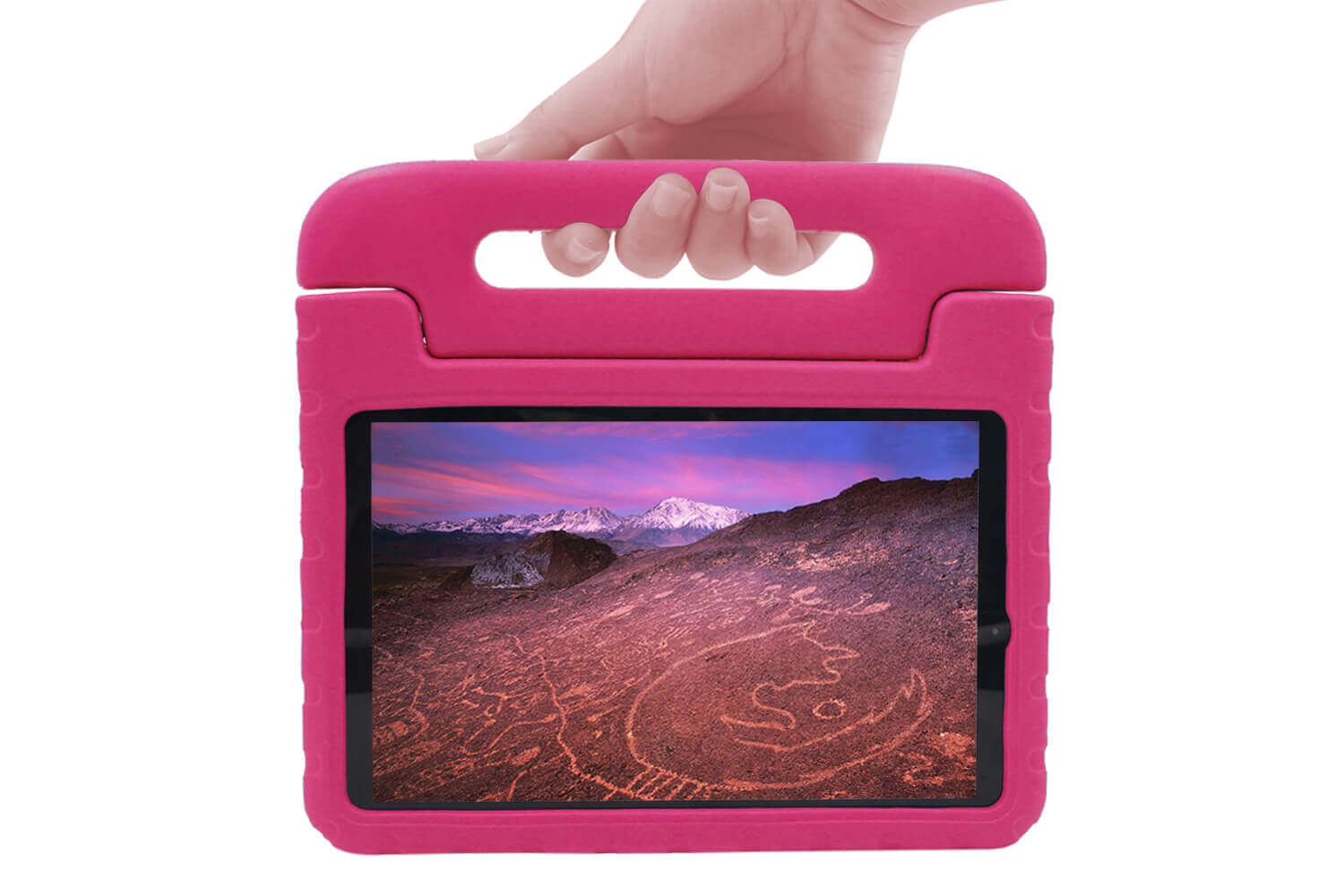 kids case for galaxy tab a 10.5 blue pink