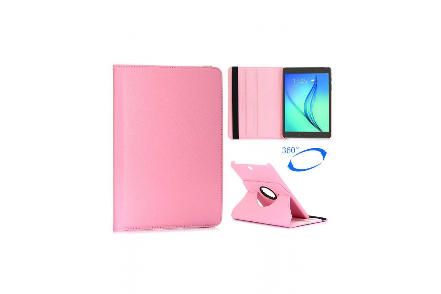 Samsung hoes Tab S2 (9.7) Draaibare Hoes Roze T810 T813 T815 T819
