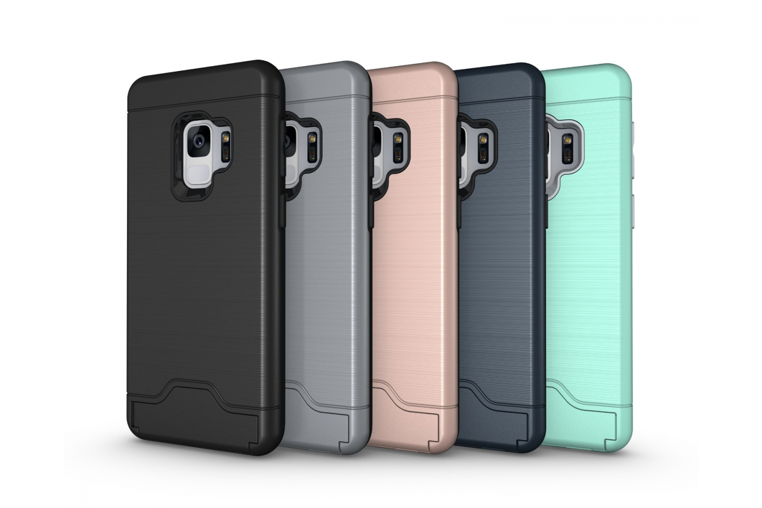 Samsung Galaxy S9 Back Cover Case Zwart