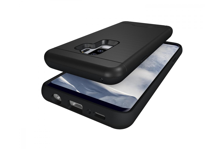 Samsung Galaxy S9 Plus Back Cover Case Zwart