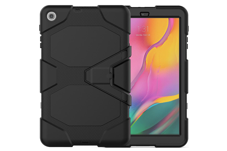 Samsung Tab A 10.1 model 2019 Bumper Case Zwart