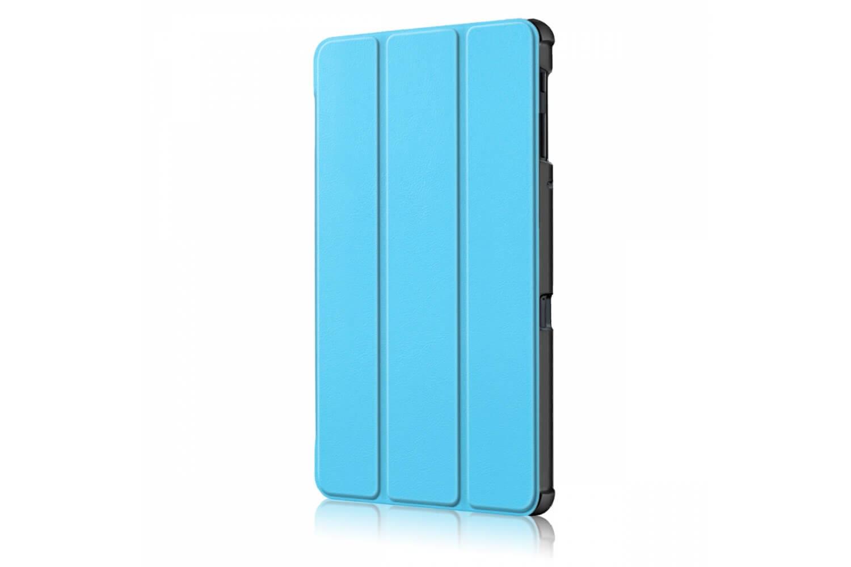 samsung galaxy tab a 10.5 book cover tri-fold blue