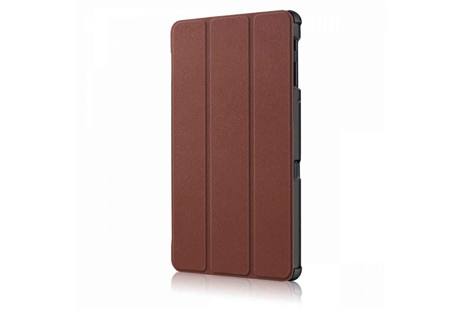 samsung galaxy tab a 10.5 book cover tri-fold brown