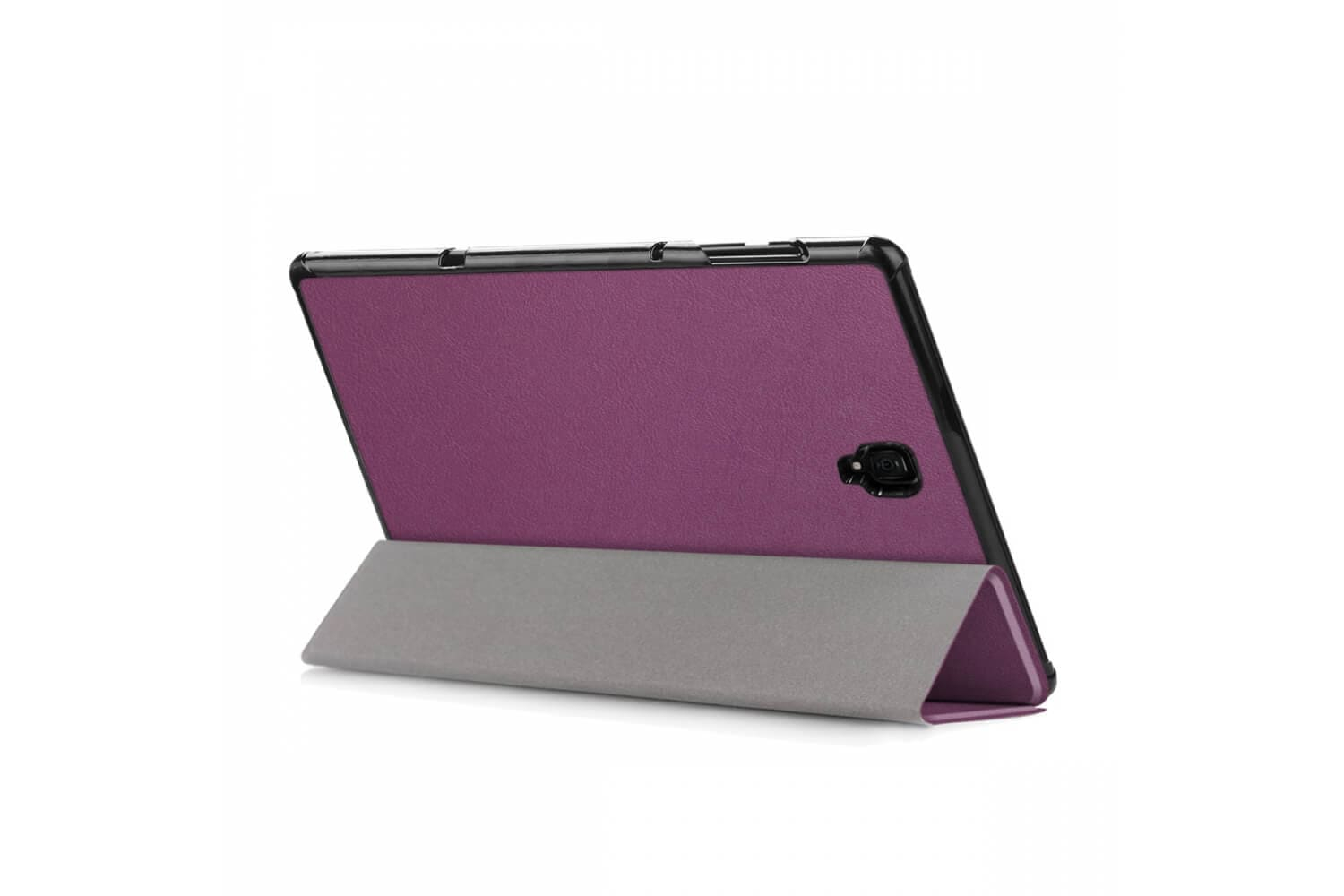 book cover galaxy tab a 10.5 tri-fold purple