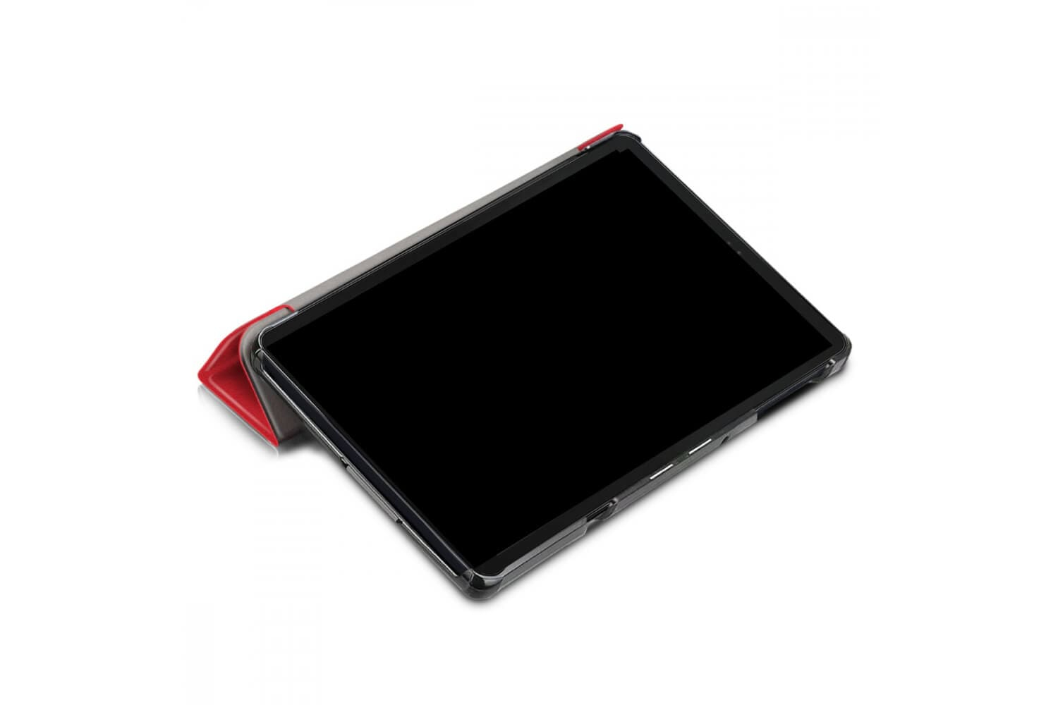 samsung galaxy tab a 10.5 book cover tri-fold red