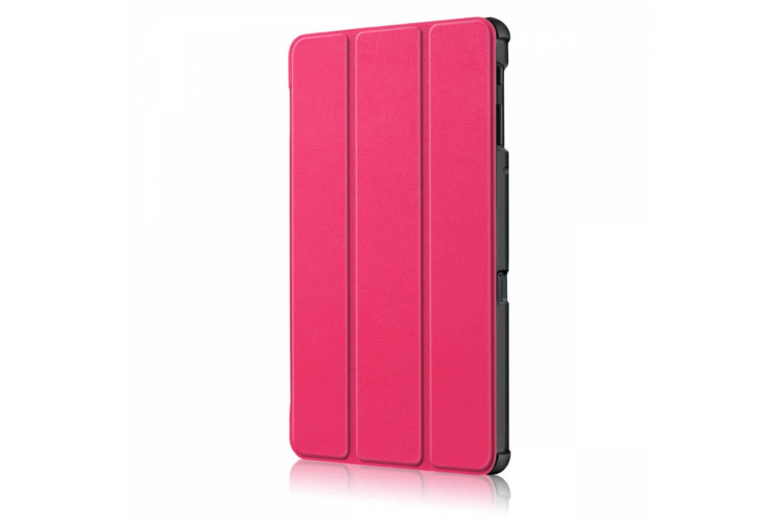 samsung galaxy tab a 10.5 book cover tri-fold pink