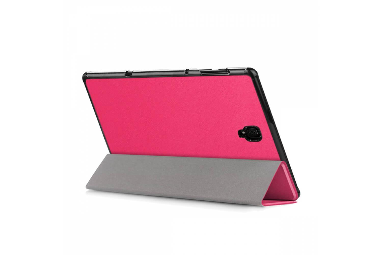 book cover galaxy tab a 10.5 tri-fold pink