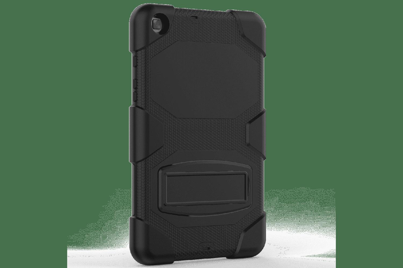 Samsung Tab A 8.0 model 2019 Bumper Case met ingebouwde kickstand zwart