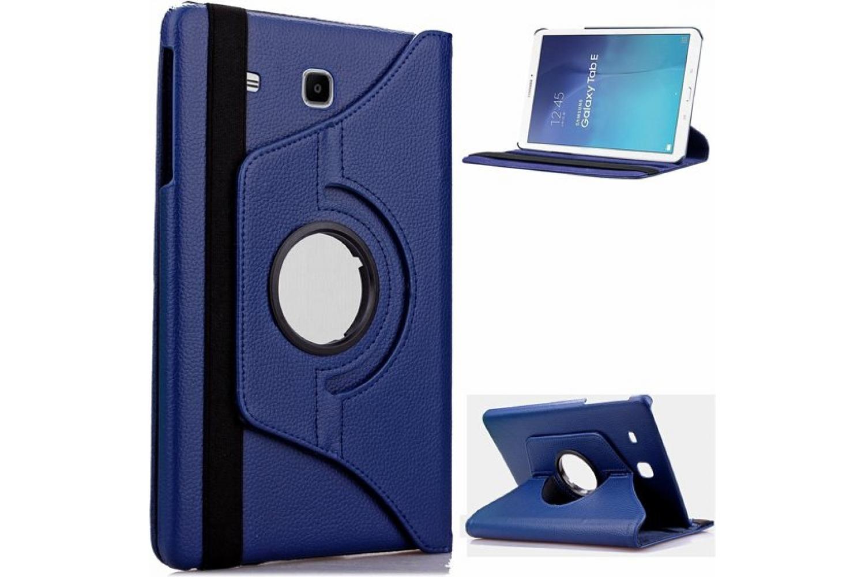 Samsung Galaxy Tab E 9.6 inch Draaibare Hoes Blauw