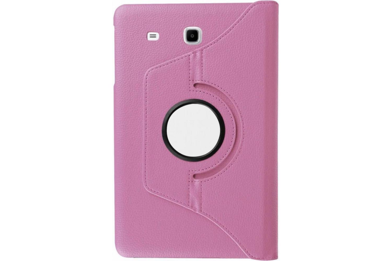 Samsung Galaxy Tab E 9.6 inch Draaibare Hoes Roze