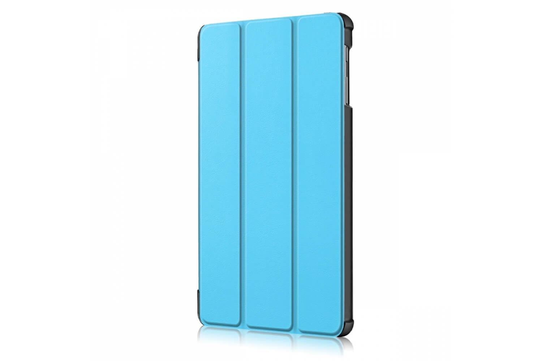 samsung galaxy tab a 10.1 book cover tri-fold blue