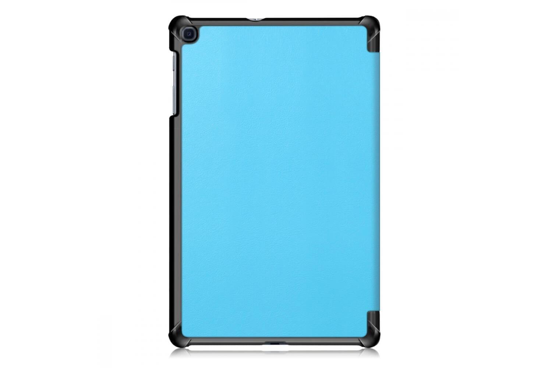 book cover galaxy tab a 10.1 tri-fold blue