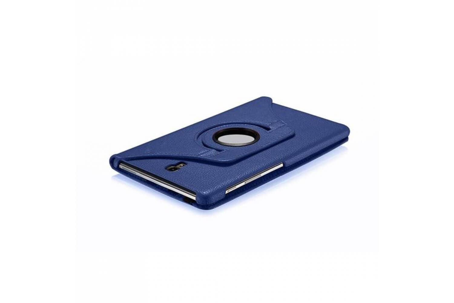360 pu leather rotating case for samsung galaxy tab a 10.5 2018 blue