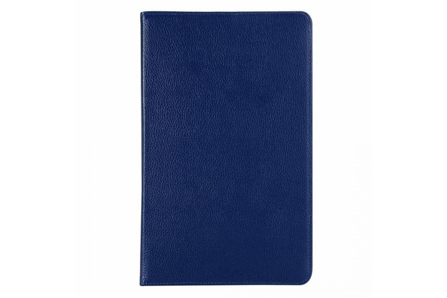 samsung galaxy tab a 10.5 2018 rotating case 360° pu leather blue
