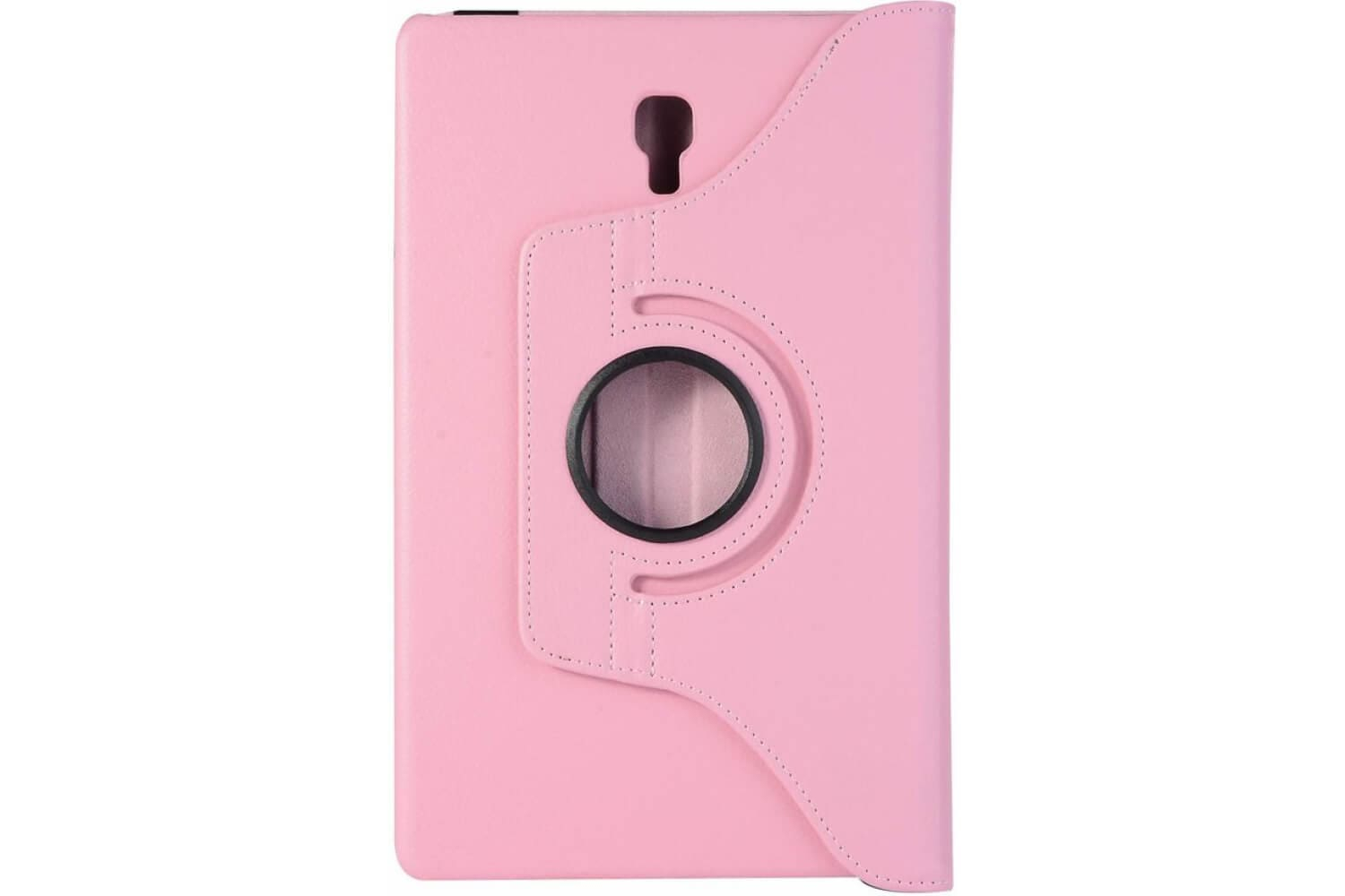 pu leather rotating stand case cover for samsung galaxy tab a 10.5 pink