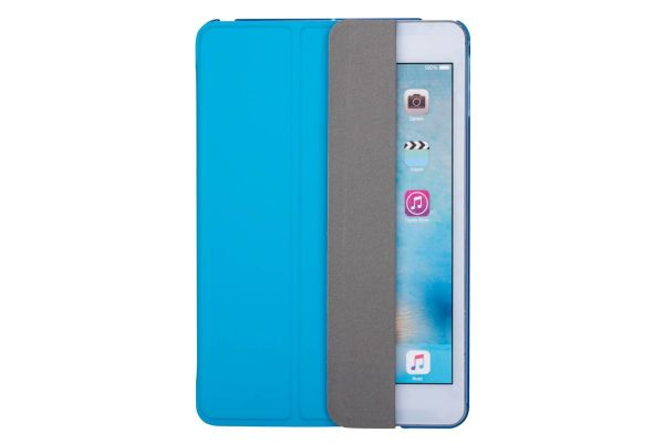 iPad Mini 4 Hard Tri-Fold Book Cover Blauw