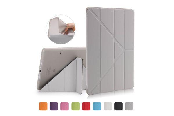 iPad 9.7 (2018) Flipstand Cover grijs