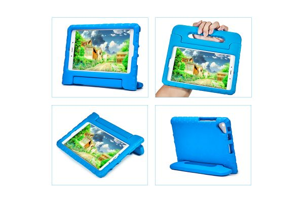 Tweede Kans Samsung Galaxy Tab A 8.0 inch model 2019 Kinderhoes blauw