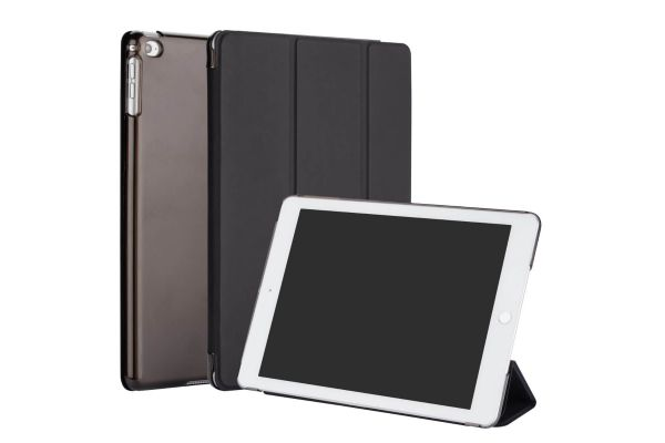 iPad Air 2 Hard Tri-Fold Book Cover Zwart