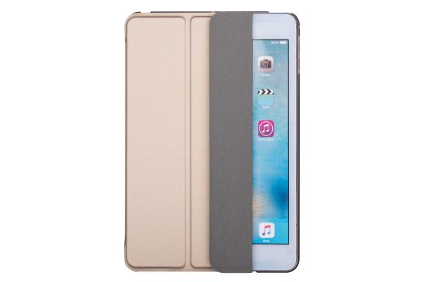 iPad Mini 5 Hard Tri-Fold Book Cover Rose Goud