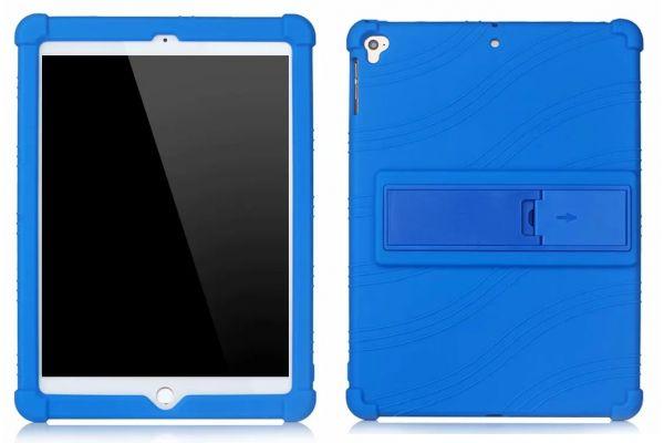 iPad 2018 9.7 inch Kinderhoes backcover schokbestendig Blauw