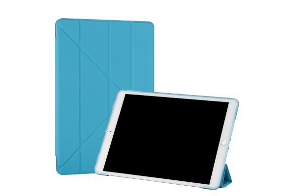 iPad 2019 10.2 inch Book Case Origami Blauw