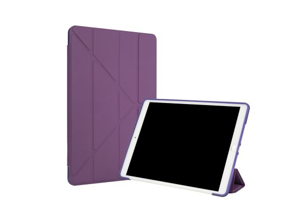 iPad 2020 10.2 inch Book Case Origami Paars