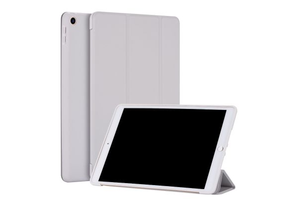 iPad 2020 10.2 inch Soft Tri-Fold Book Cover Grijs