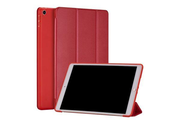 iPad 2020 10.2 inch Soft Tri-Fold Book Cover Rood