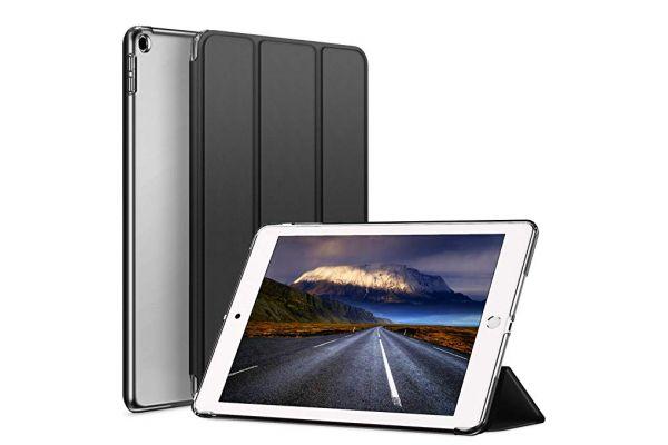 iPad Air 10.5 model 2019 inch Hard Tri-Fold Book Cover Zwart