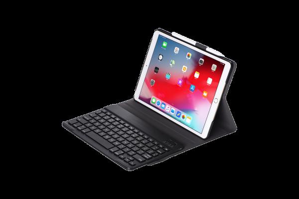 iPad Pro 10.5 inch hoes met toetsenbord ultra slim zwart