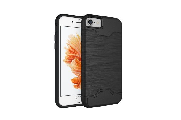 Iphone 7 Back Cover Case Zwart
