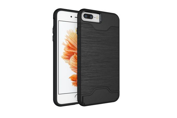 Iphone 8 Plus Back Cover Case Zwart