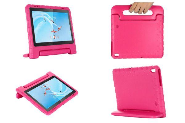 Lenovo Tab E10 Kinderhoes roze