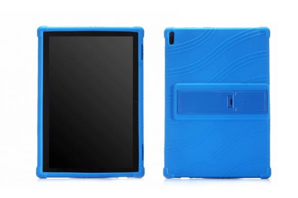 Lenovo Tab 4 10 Plus Kinderhoes backcover schokbestendig Blauw