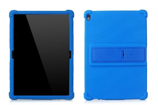 Lenovo Tab M10 10.1 inch 1ste generatie Kinderhoes backcover schokbestendig Blauw