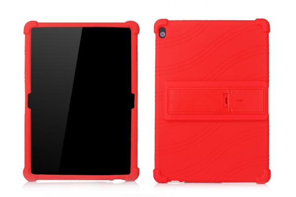 Lenovo Tab M10 (10.1 inch) Kinderhoes backcover schokbestendig Rood