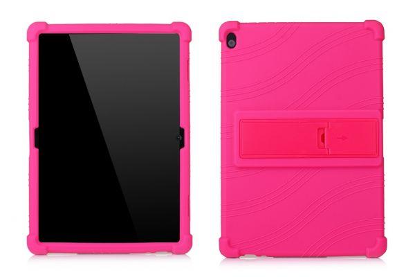 Lenovo Tab M10 10.1 inch 1ste generatie Kinderhoes backcover schokbestendig Roze