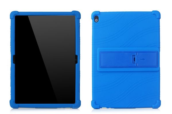 Lenovo Tab P10 (10.1 inch) Kinderhoes backcover schokbestendig Blauw